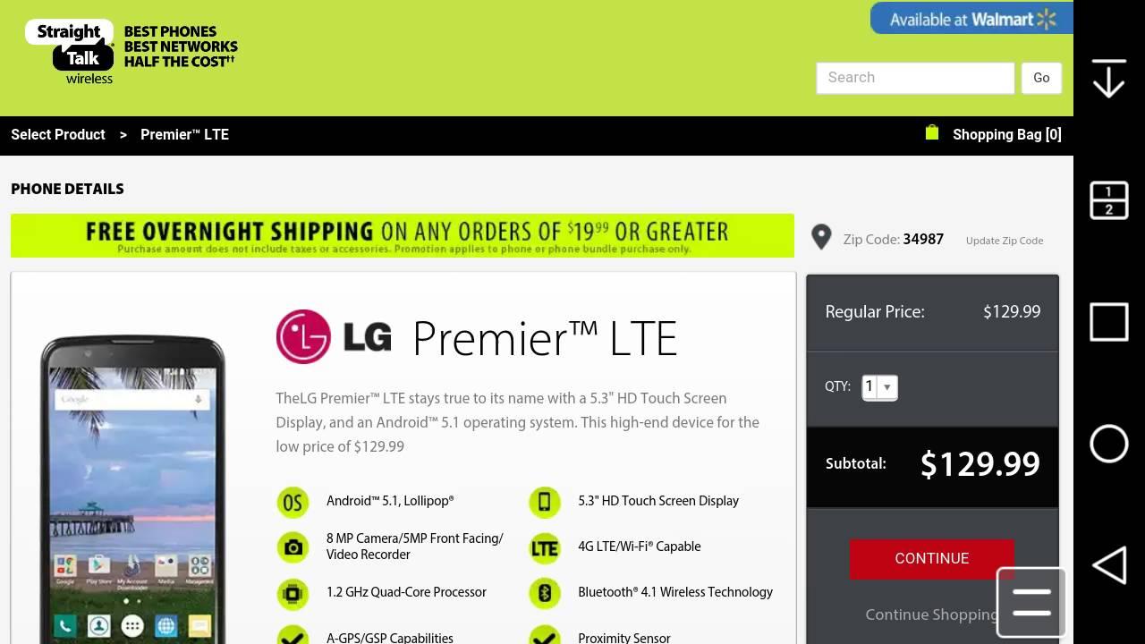 LG Premier™ LTE | Straight Talk