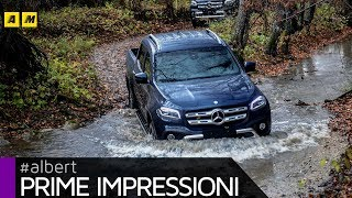 Mercedes Classe X | a lezione di pick up su strada e in off road