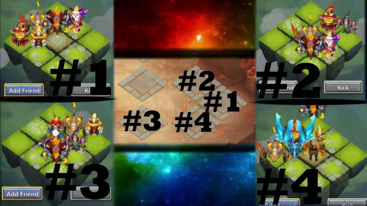 Castle Clash Best Heroes 2020 Castle Clash Best Lava Isle 3 Setup | 100% Consistent Setup For