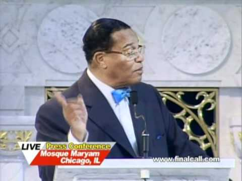 Farrakhan Blasts Government Over  U.S. Treatment of  Ghaddafi & Libya