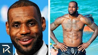 This Is How LA Lakers' LeBron James Spends MILLIONS On His Body