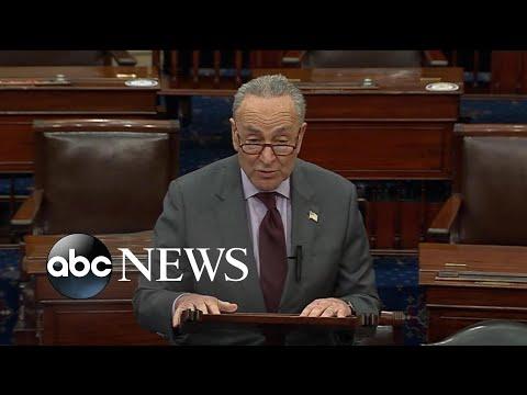 Sen. Chuck Schumer announces Trump Impeachment trial