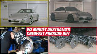 We Buy The Cheapest Porsche 997 in Australia! And Modify it - Motive Garage