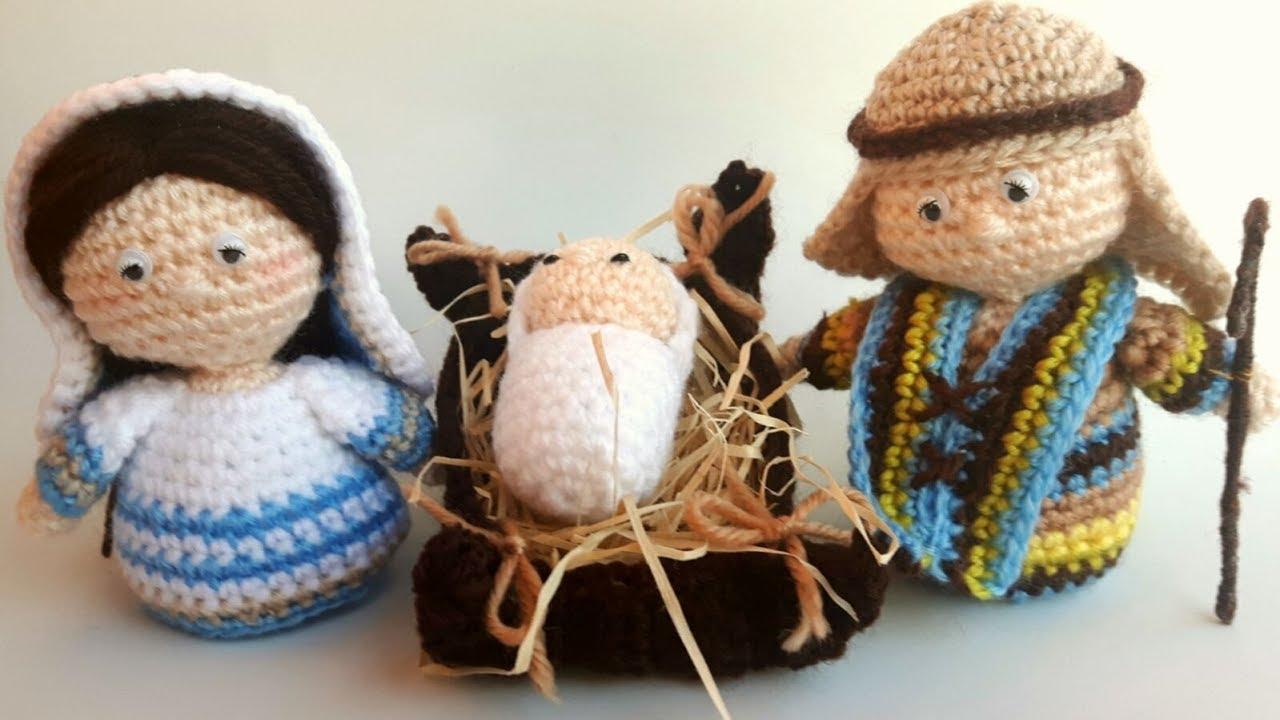 Preferenza Presepe Amigurumi Tutorial (Giuseppe) Parte 1 - Nativity Crochet  OH83