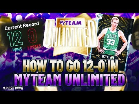 HOW TO GO 12-0 IN NBA 2K20 MYTEAM! BEST DEFENSIVE SETTINGS, LINEUPS, AND SCORING TIPS!