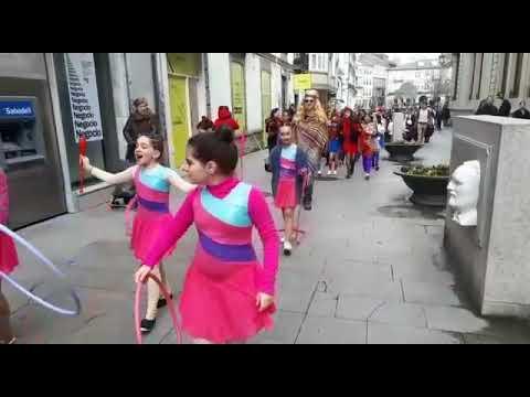 Los alumnos de Maristas de Lugo ya disfrutan del carnaval