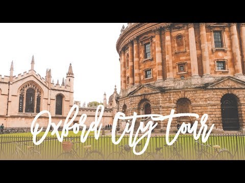 Oxford City Tour (Day 2 in the UK!)