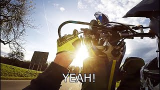 Supermoto RAW with querly: The last sunny day