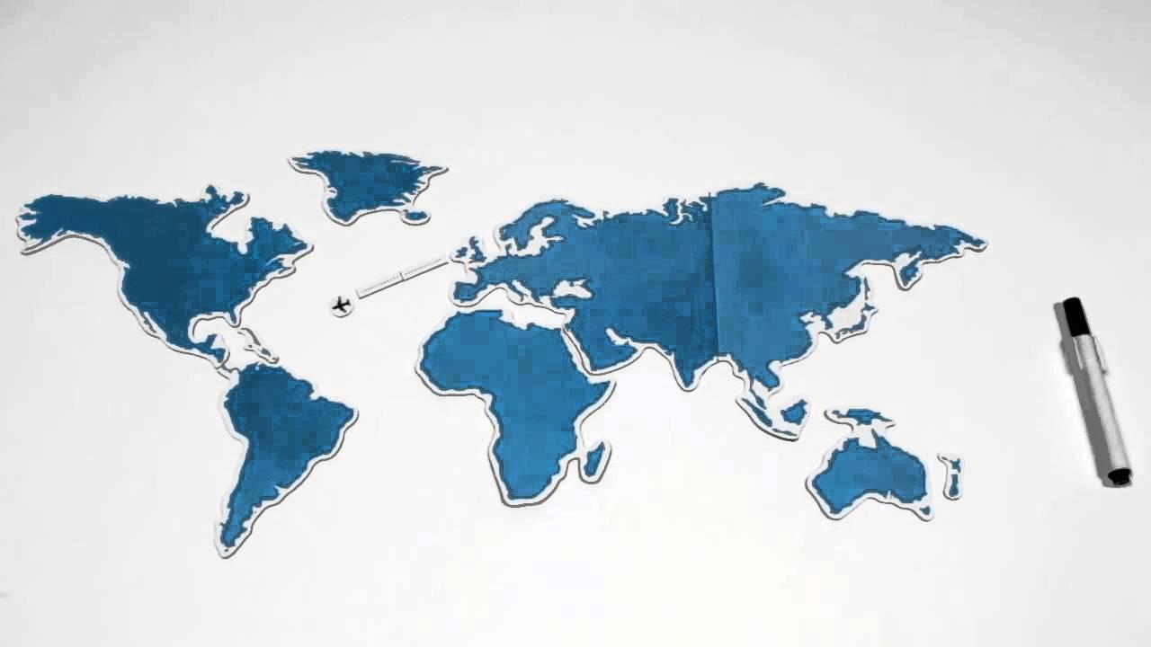 Harta Magnetica A Lumii Video Youtube