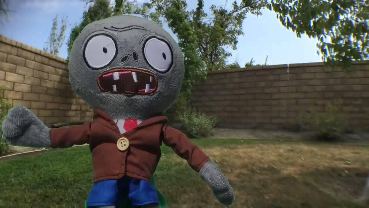 Plants Vs Zombies Plushies Attack Garden Warfare Trailer Youtube