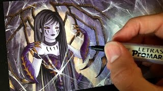 Drawing Zone - Spider Queen - Letter Creation
