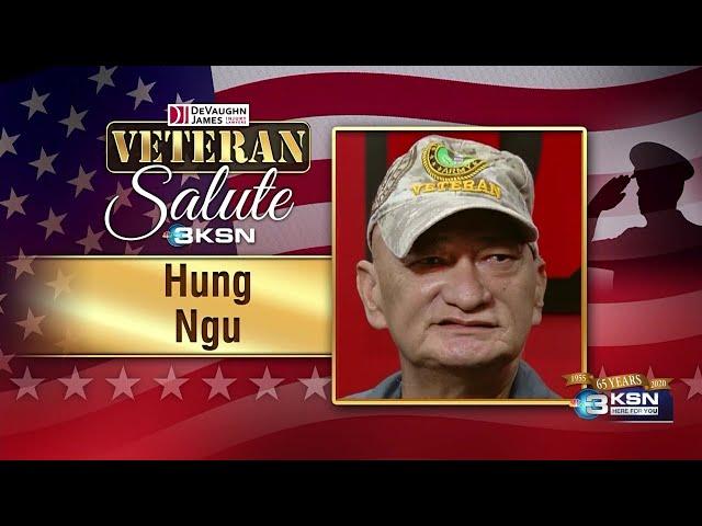 Veteran Salute: Hung Ngu