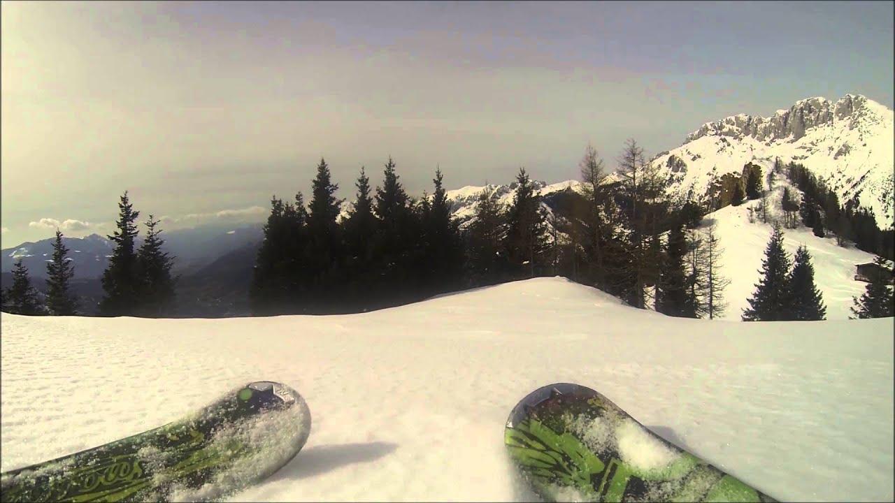 Mottarone drone neve