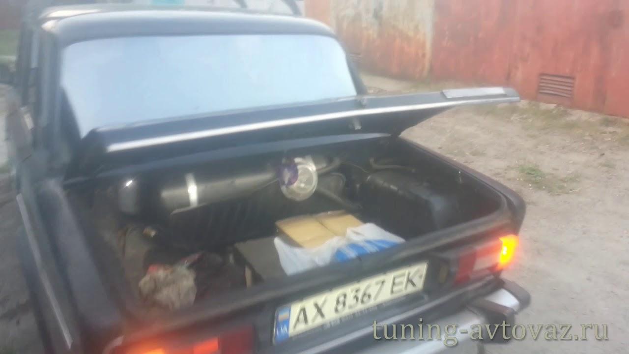 Открытие багажника с кнопки ВАЗ 2106