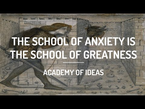 The School of Anxiety is The School of Greatness