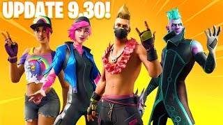ALL *NEW* Fortnite 9.30 LEAKED SKINS & COSMETICS! (New Skins, Gliders, Rewards, & MORE)