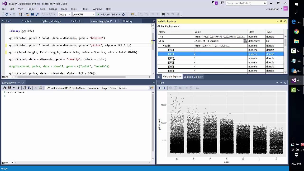 R coming to Visual Studio (Revolutions)