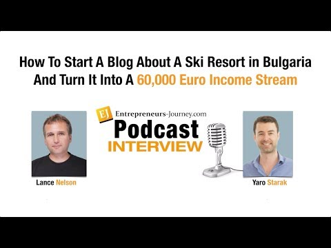 How Lance Nelson Quit His Job And Now Makes A Living From A Blog About A Ski Resort In Bulgaria