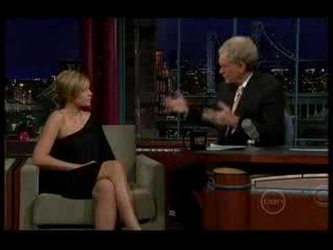 Lauren Conrad Guests on 'The Late  with David Letterman'