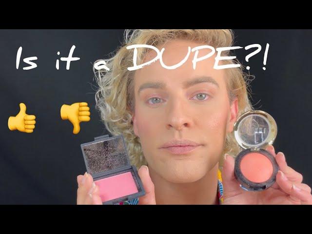 High-end vs. Affordable Makeup - NARS Blush vs. Milani Blush - Honest makeup review first impression