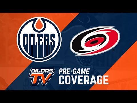 ARCHIVE | Oilers Pre-Game Interviews vs. Carolina
