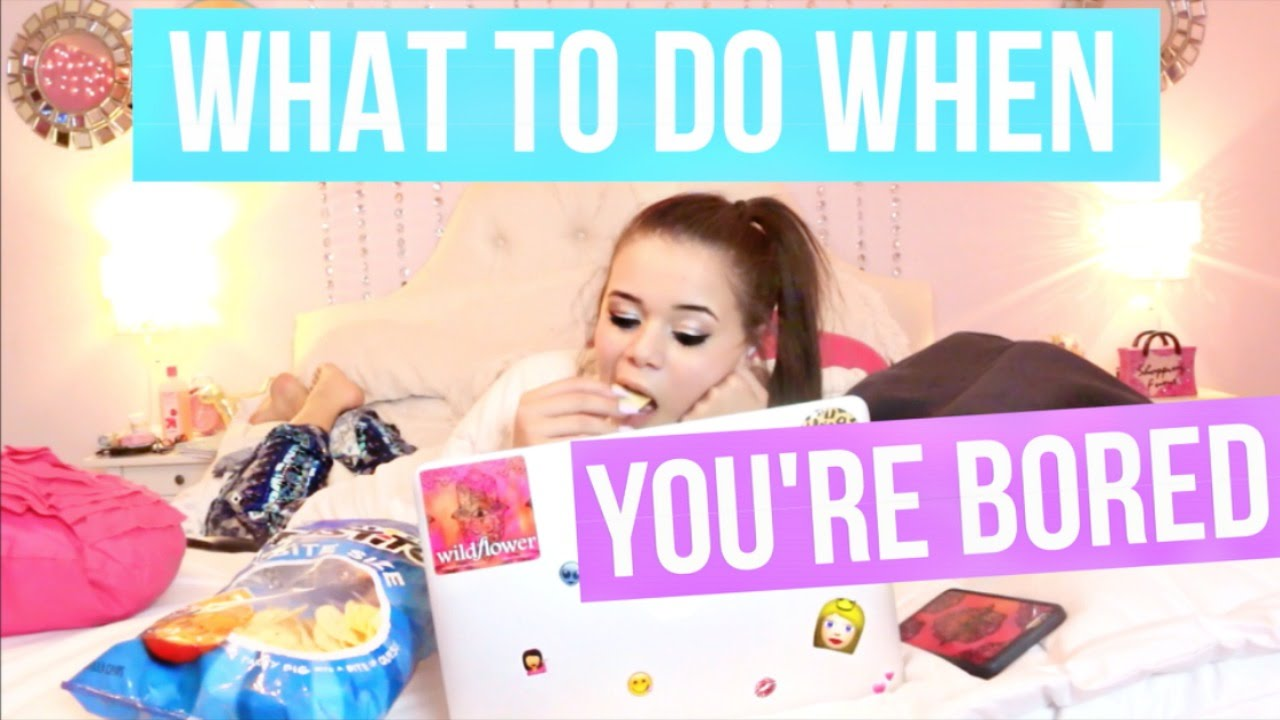 What To Do When You're Bored In Summer! | Krazyrayray ...