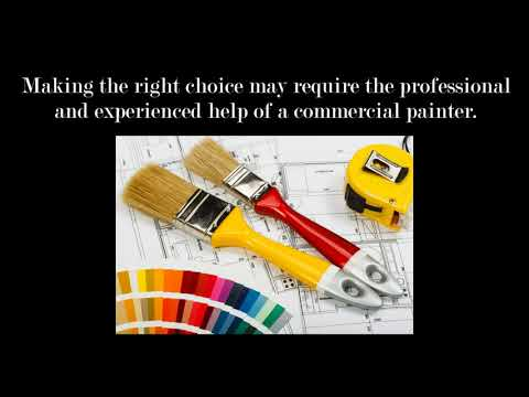 Reasons Why You Should Hire a Commercial Painter