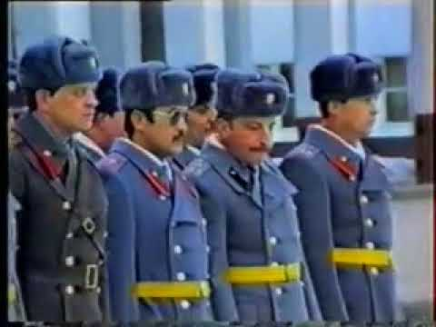 1991 Soviet Army Ceremonial Parade In Memory of Afghan War