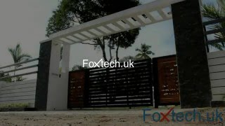 Automatic sliding gate / Remote control gate opener systems india _ FX DC 800 Foxtech.uk