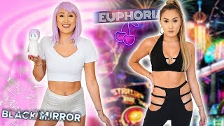 DIY HALLOWEEN COSTUMES: Euphoria Maddy + Black Mirror Ashley O