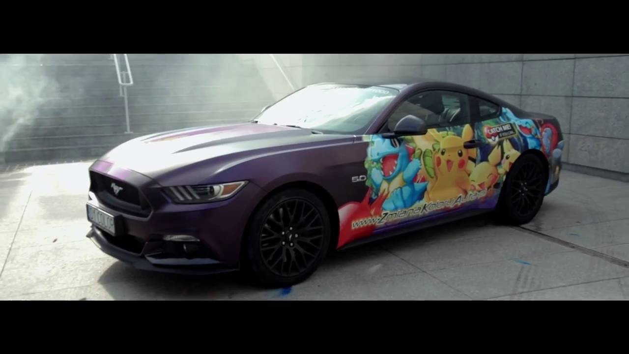 Ford mustang gt pokemongo catch your style