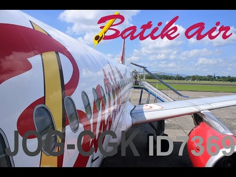 Batik Air ID7369 Business Class Flight Experience
