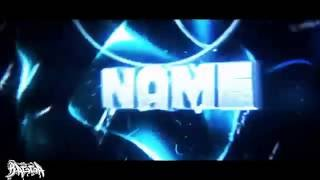FREE BLUE INTRO TEMPLATE (C4D AE) BY BAGGAFX (1 DL = 1 LIKE?)