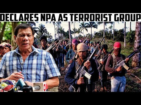 DUTERTE NEWS REPORT DECEMBER 06, 2017 | DUTERTE DECLARE$ N- P -A  AS  TERR0R|$T GR0UP