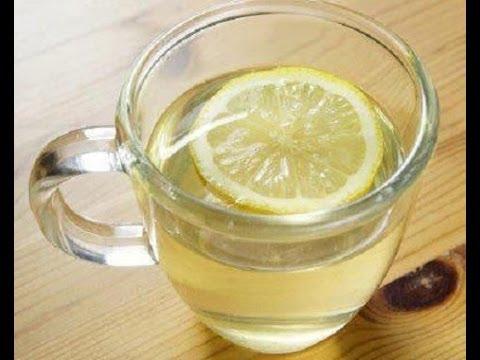 como preparar agua con limon en ayunas