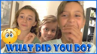 GIRLS TRASH HOUSE WHILE PARENTS ARE GONE! | We Are The Davises
