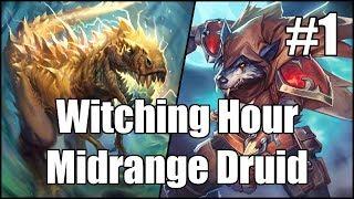 [Hearthstone] Witching Hour Midrange Druid (Part 1)