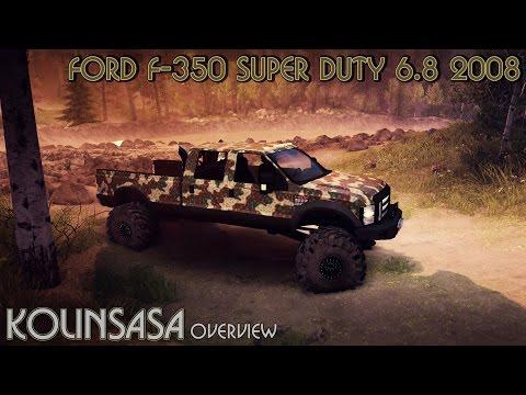 Ford F-350 Super Duty 6.8 2008