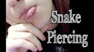 Snake Piercing Ponta Da Lingua Verdadeiro