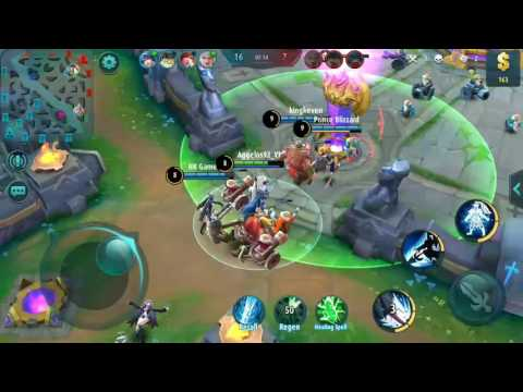Yun Zhao gameplay #2 mobile legends ft. HK Gamer