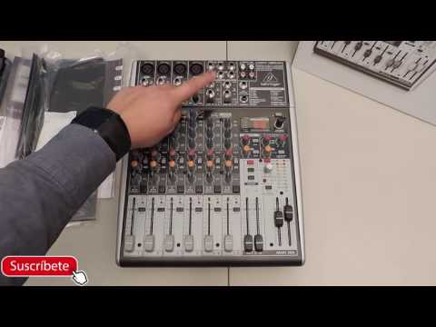 Unboxing: Behringer XENYX X1204 Usb | Primeras Impresiones