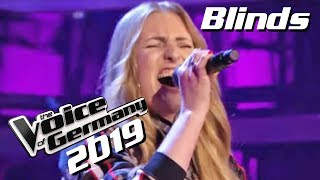 Dua Lipa - New Rules (Laura Artmann) | The Voice of Germany 2019 | Blinds