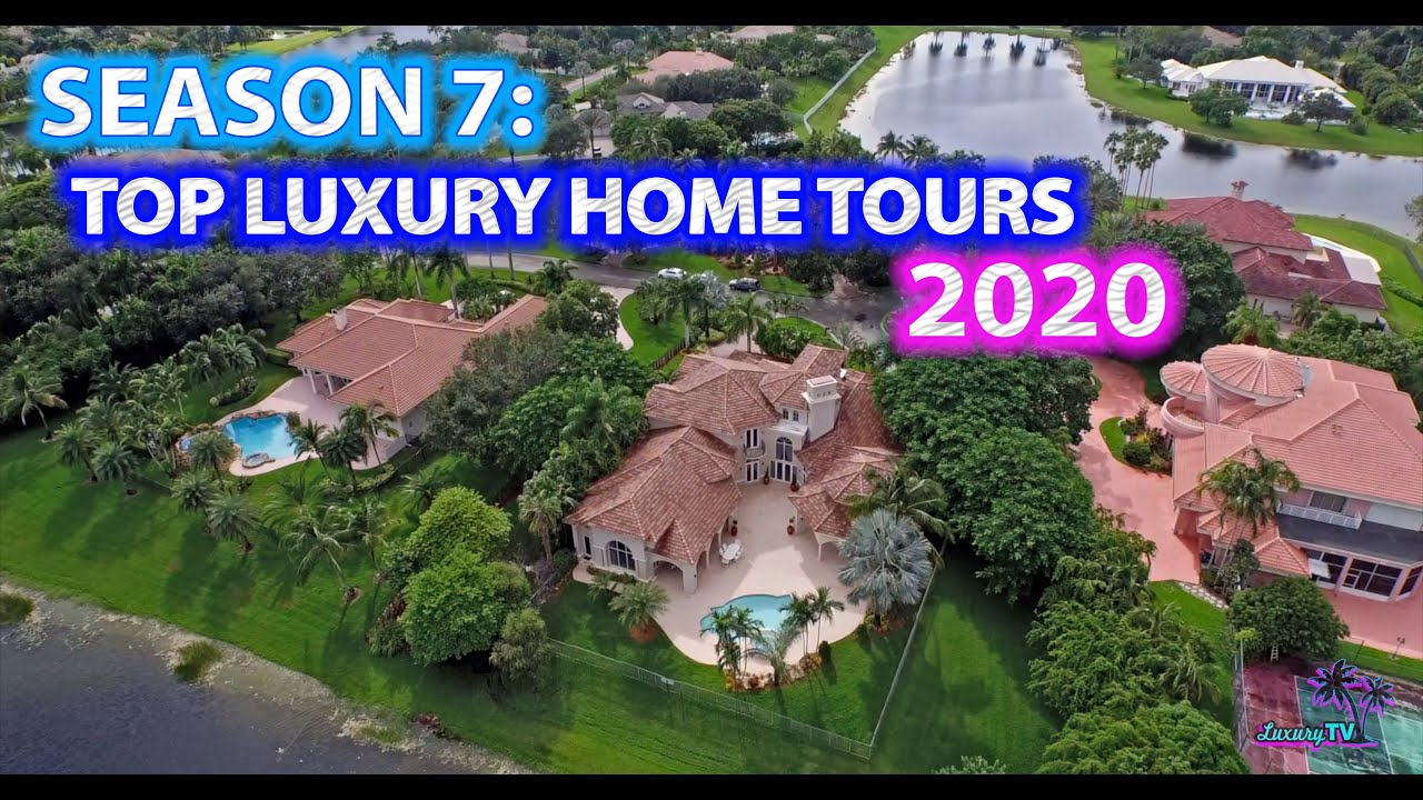 Season 7: Most EPIC Mansions in FLORIDA - 1 HOUR TOUR!