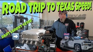 We Roadtrip To Summit Racing and Texas Speed To Pick Up Shawns New Engine For The Donk!