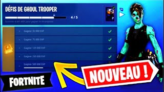 "THE BACK OF THE SKIN ""GHOUL TROOPER"" AND THE PIOCHE ""FAUCHEUSE"" ON FORTNITE! (OFFICIAL)"