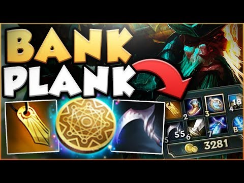 THIS BANKPLANK BUILD EARNS 6000+ GOLD IN 10 MINS? KLEPTO GANGPLANK TOP GAMEPLAY! - League of Legends