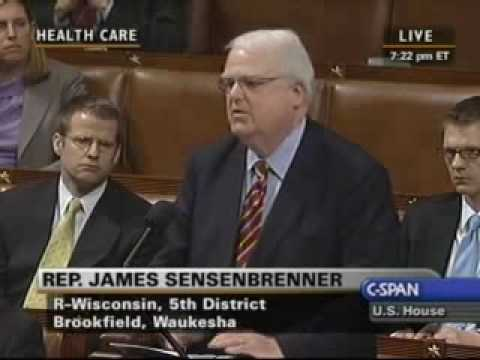 Rep. Sensenbrenner Speaking about the Executive Order and the Hyde Amendment