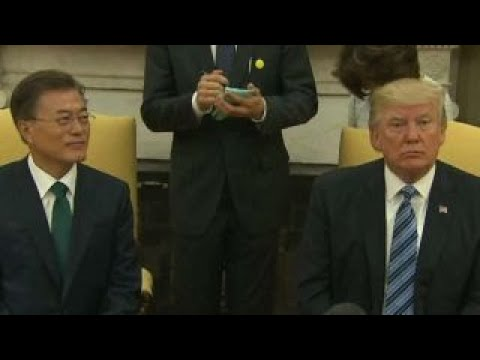 South Korea officials make statement after call with Trump