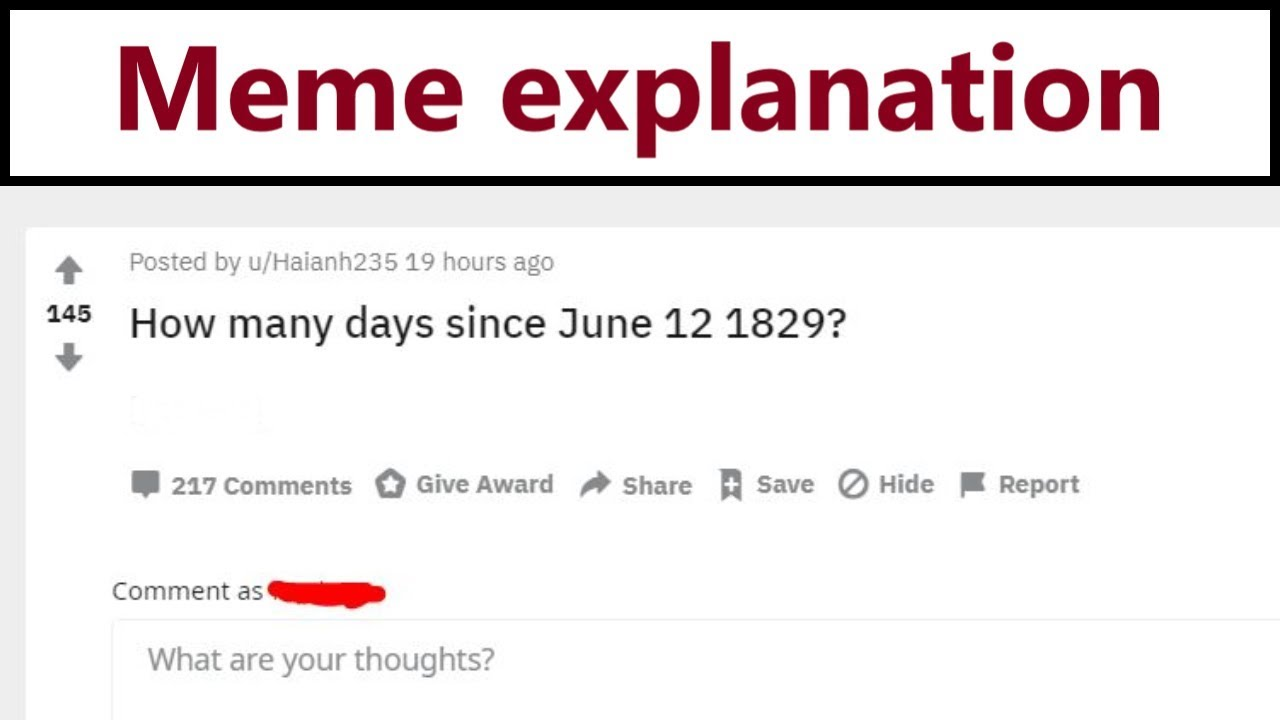 How Many Days Since June 12 1829 Why Are Everyone Google