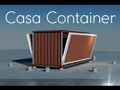 Casa container uma casa feita de container youtube for Casa in container